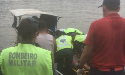 Homem é esmagado por carretas sobre a balsa de travessia do Rio Uruguai