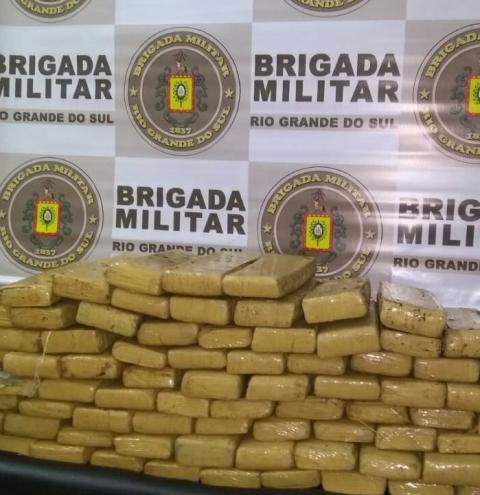 BM prende 03 homens por tráfico de drogas durante a Operação Hórus