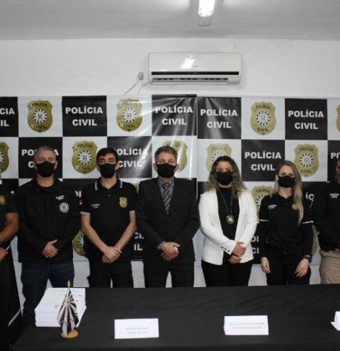 COLETIVA DE IMPRENSA POLÍCIA CIVIL TRÊS PASSOS SOBRE MORTE DA INDÍGINA DAIANE SALES